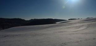 Schnee - so wie es sich für den Winter gehört